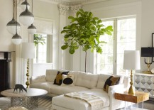 Chic sectional from Jonathan Adler