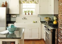 Classy kitchen pulls off a lovely blend of styles