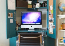Clever-idea-for-a-desk-with-storage-from-an-old-armoire-217x155
