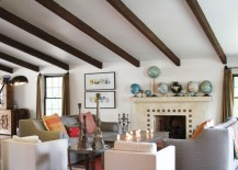 Collection-of-globes-on-a-fireplace-mantel-217x155