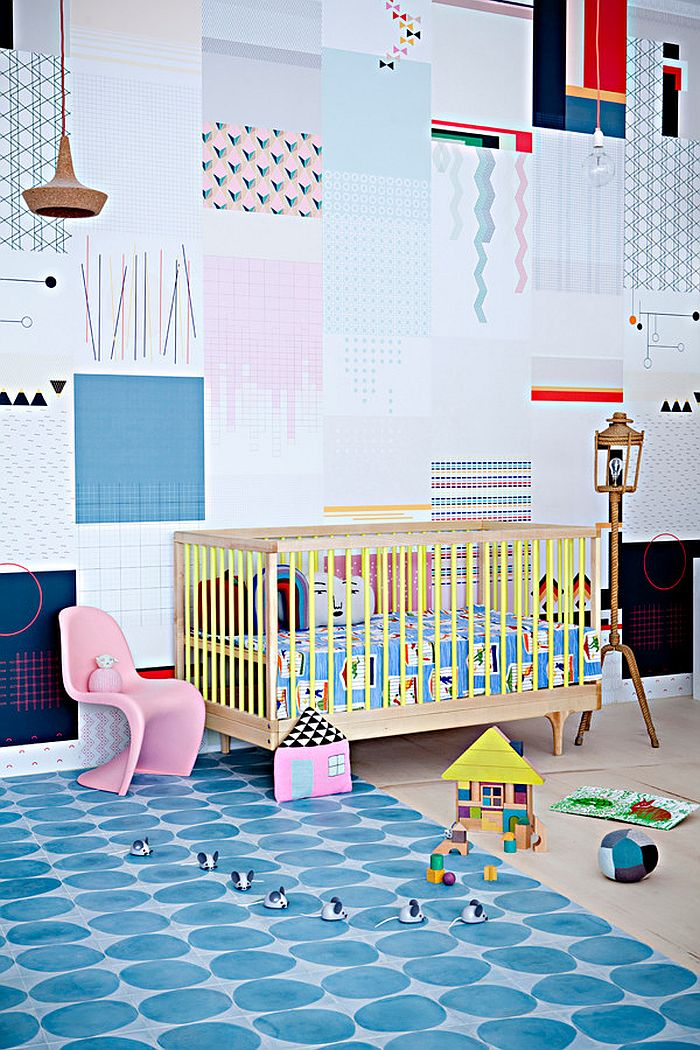 View In Gallery Colorful And Creative Nursery Idea [From: Balouga]
