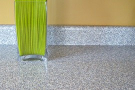 Contact paper countertop makeover from craftandrepeat