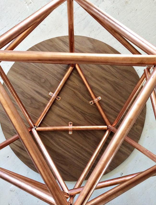 Copper Pipe Table DIY