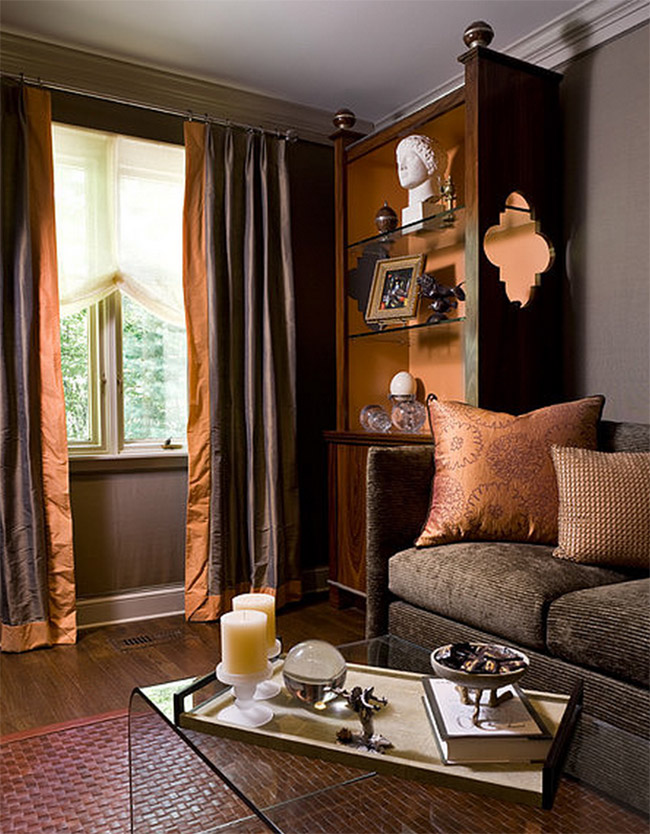 Copper and Rust Decor Accents