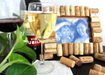 Cork Wine Photo Frame DIY 217x155 How to Make a Cute and Rustic Picture Frame Using Recycled Wine Corks