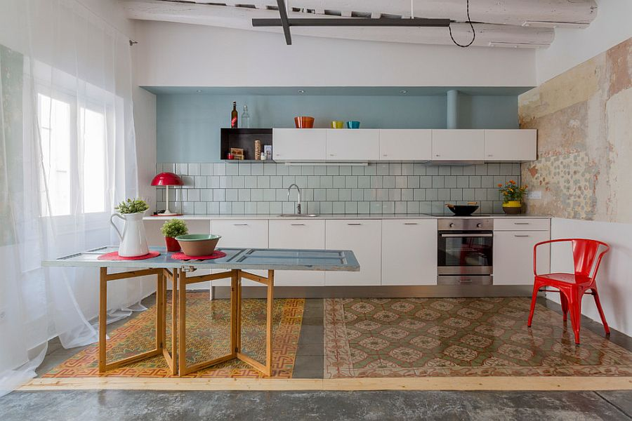 50 trendy eclectic kitchens that serve up personalized style for Cucine moderne 3x3