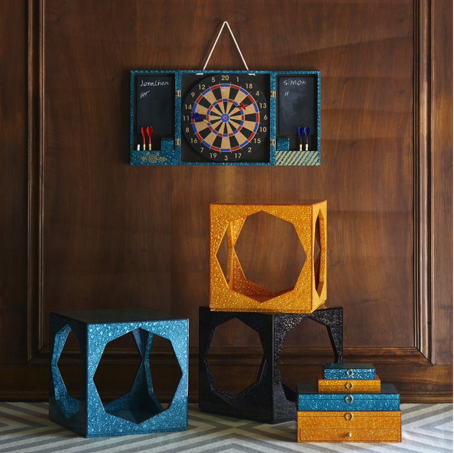 Cube side tables from Jonathan Adler