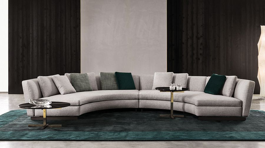 20 modish minotti sofas and seating systems for Modern lounge sofa