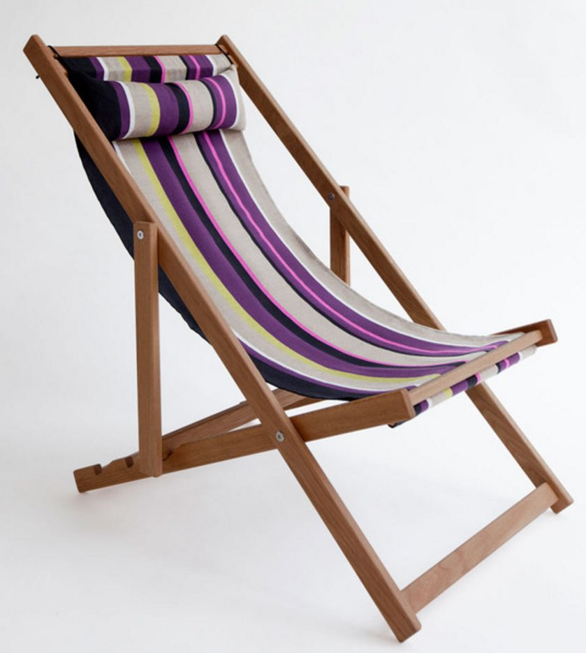 Deck chair from Gallant & Jones