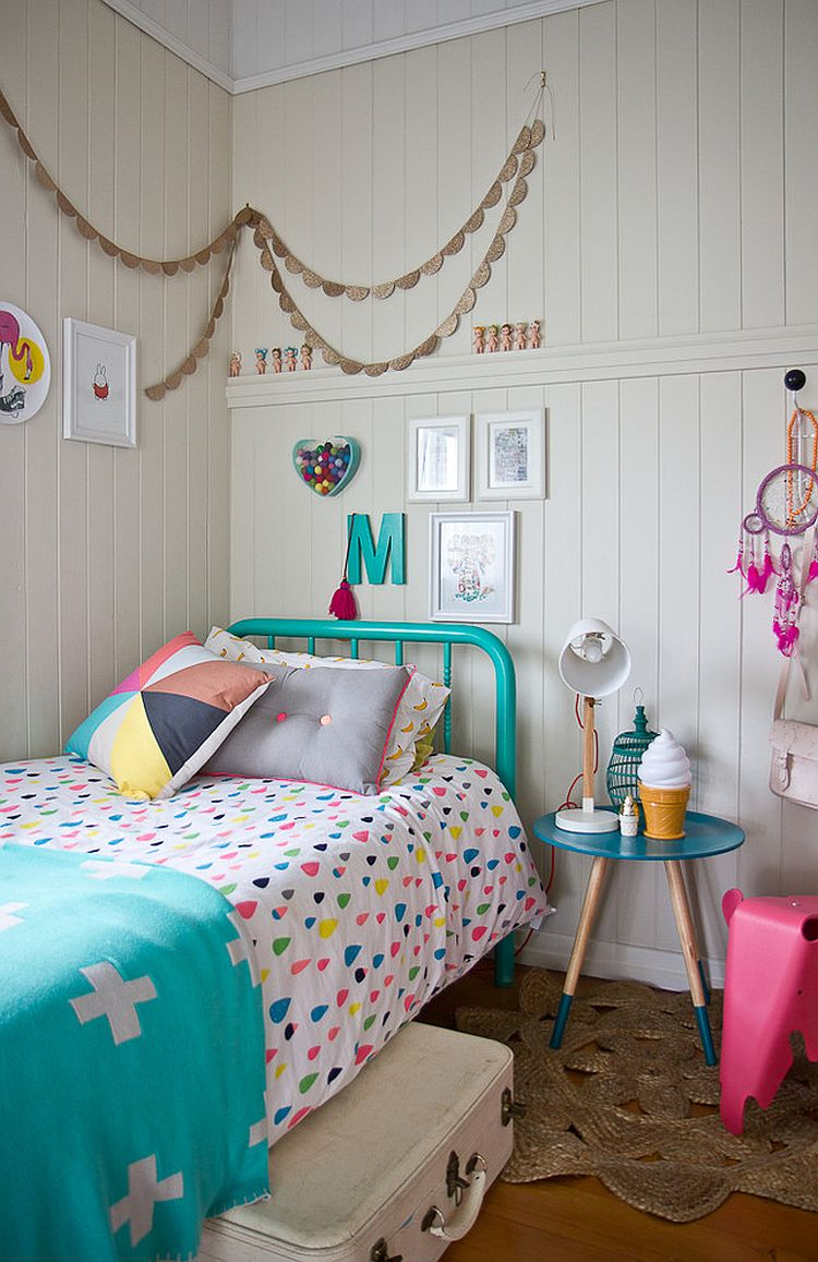 Room Design For Kid: 30 Trendy Ways To Add Color To The Contemporary Kids' Bedroom