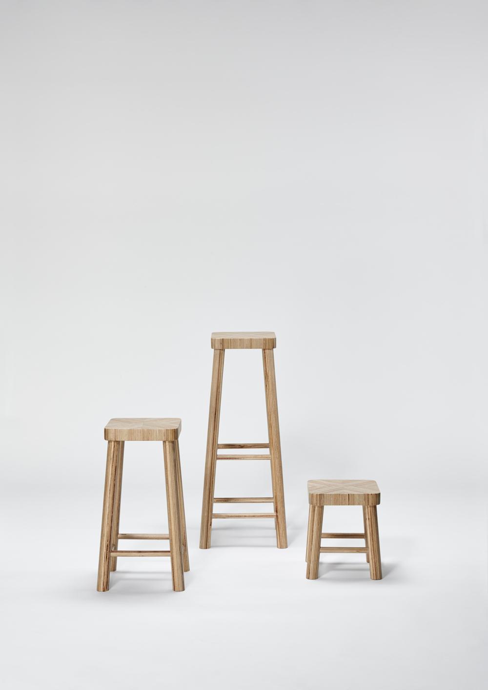Delica Just In Case stools