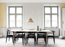 Dining space in home of Knud Erik Hansen