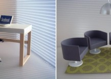 Dollhouse furniture from Minimodernistas