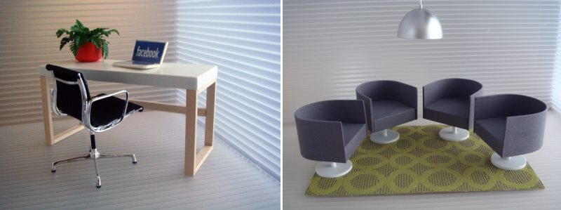 View In Gallery Dollhouse Furniture From Minimodernistas