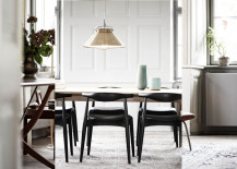 Elbow chairs in home of Knud Erik Hansen