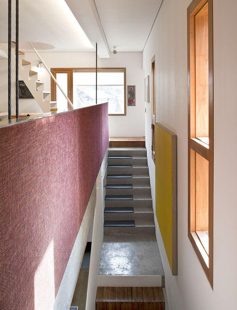 Elegant interiors of the Four Box House