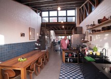 Elements-in-wood-weave-togther-the-contrasting-elements-in-this-eclectic-Melbourne-kitchen-217x155