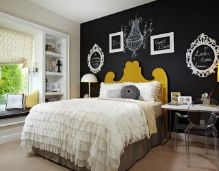 35 Bedrooms That Revel in the Beauty of Chalkboard Paint