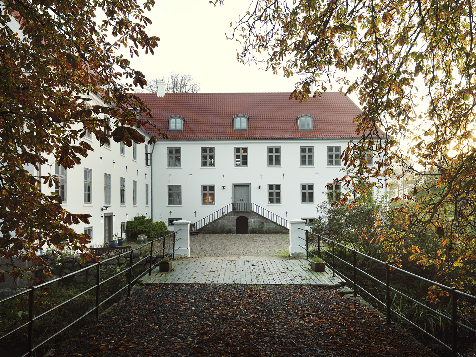 Entrance to the home of Knud Erik Hansen