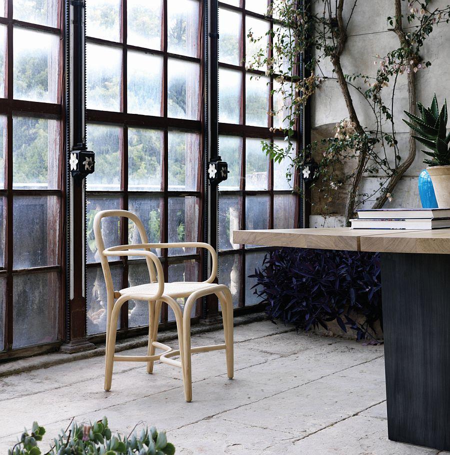 Expormim Fontal chair by Oscar Tusquets Blanca