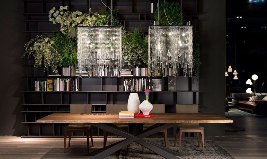 Hottest Finds: Trio of Sparkling Ceiling Lamps with Glassy Panache