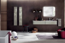Customized Elegance: Tasteful Trio of Exquisite Bathrooms from Scavolini