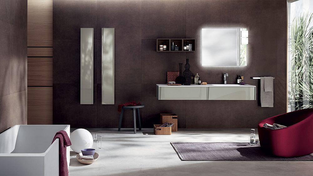 Fabulous contemporary bathroom design