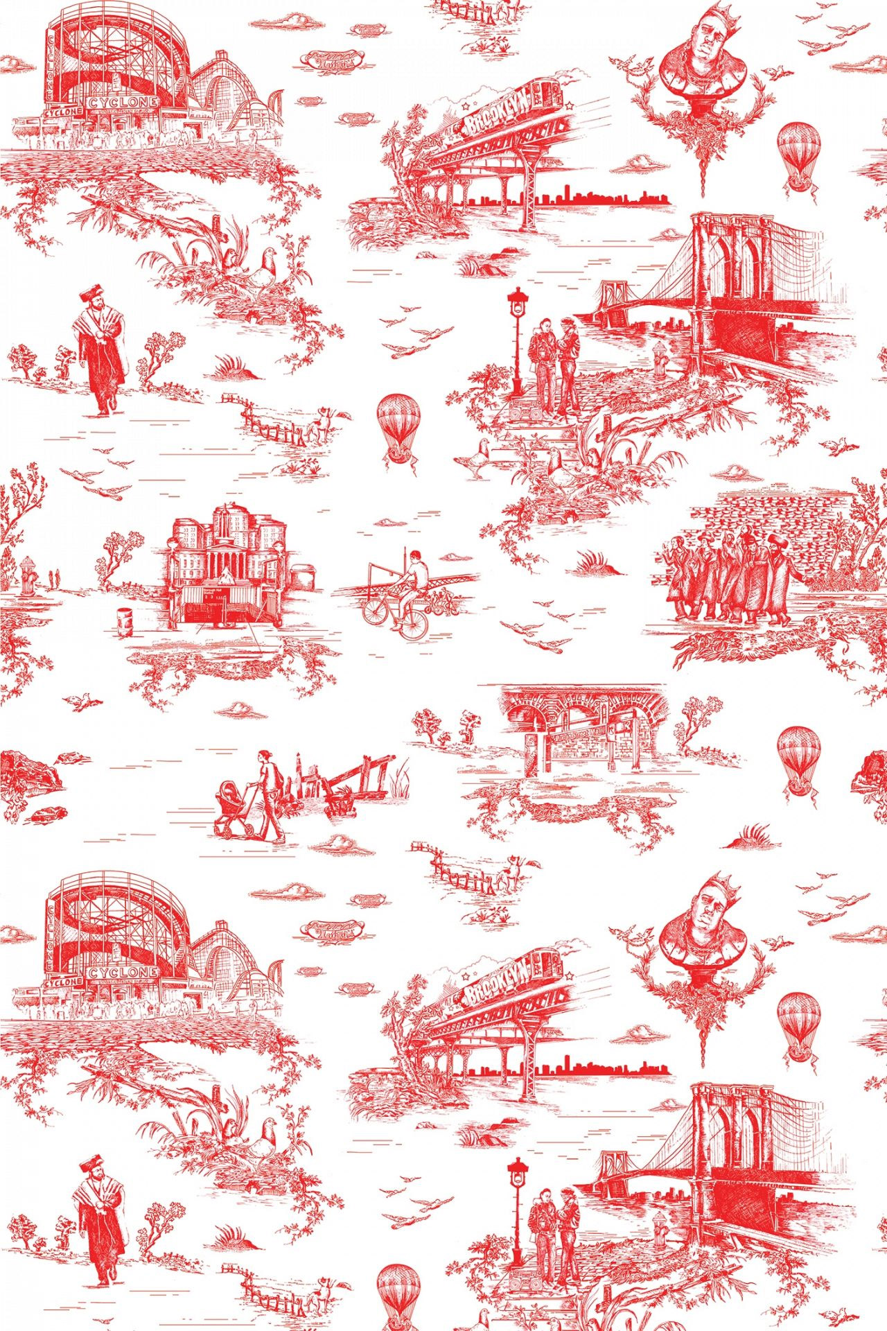 Flavor Paper Brooklyn Toile