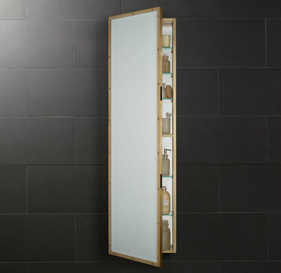 High Quality View In Gallery Full Length Medicine Cabinet From Restoration Hardware
