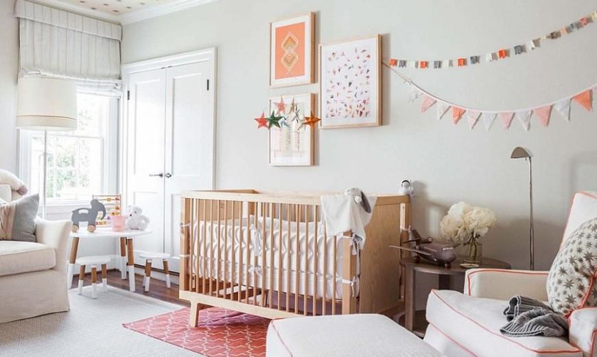 Beautiful 25 Cute And Comfy Scandinavian Nursery Ideas