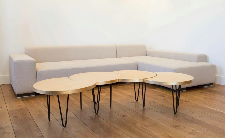 View in gallery Geometric modular coffee table