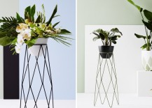 Geometric planters from Ivy Muse
