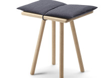Georg Stool Oak