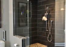 Gorgeous-black-tiled-shower-with-built-in-bench-217x155
