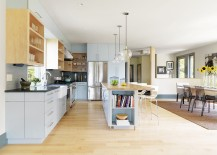 Gorgeous globe pendants for the stylish contemporary kitchen [From: Susan Teare, Professional Photographer]