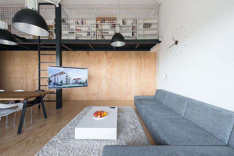 Gorgeous loft apartment in Bratislava Slovakia Modern Industrial Loft Apartment in Bratislava Showcases Space Savvy Design