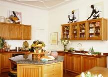 Gorgeous-octagonal-kitchen-island-with-stone-worktop-217x155