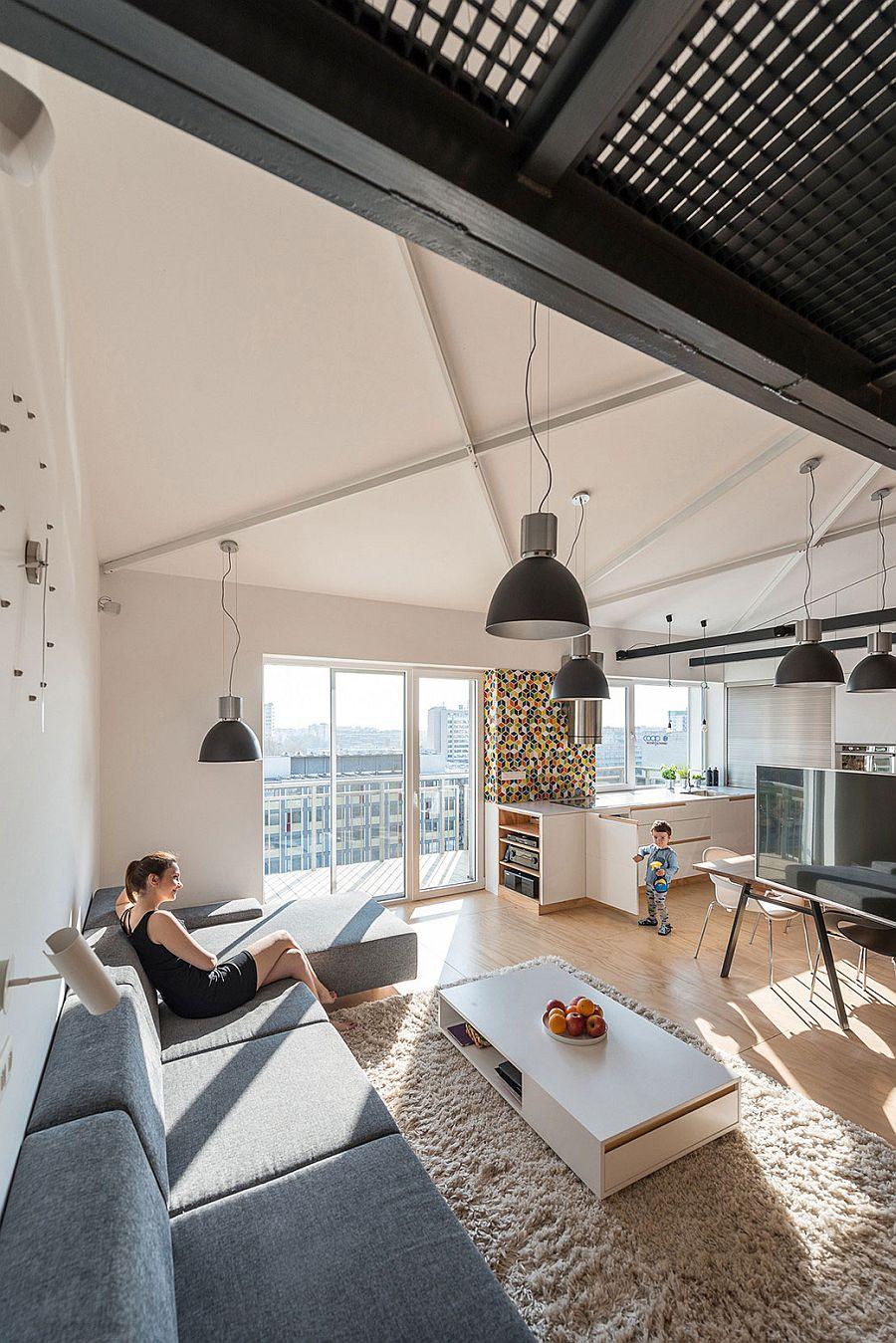 Modern Industrial Loft Apartment In Bratislava Showcases