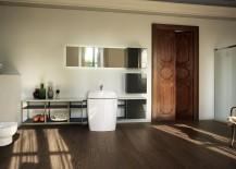 Habi bathroom design with modern ergonomics and minimal style
