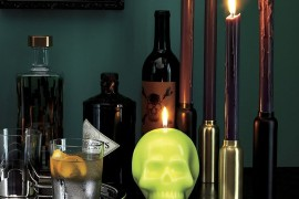 Halloween decor from CB2  A Fall Checklist for Design Lovers Halloween decor from CB2