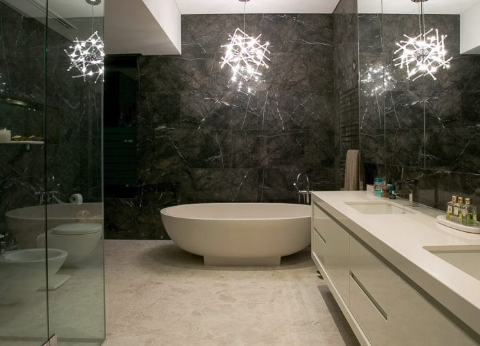 Haven stone bathtub from Apaiser