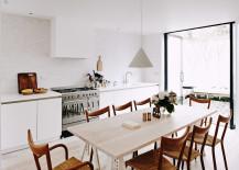 Herringbone House kitchen