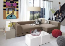 Hi gloss lacquered tables from CB2 217x155 20 Modular Coffee Table Ideas