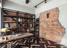 Antique-Chic Makeover: Vintage Apartment Acquires Curated Industrial Sheen