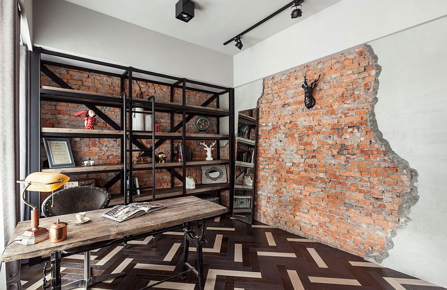 Vintage Industrial Apartment Makeover By Chi Torch