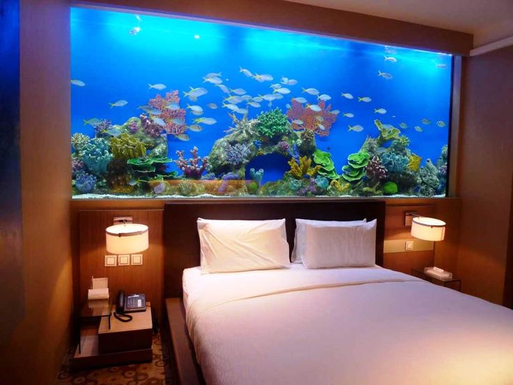 8 extremely interesting places to put an aquarium in your home. Black Bedroom Furniture Sets. Home Design Ideas