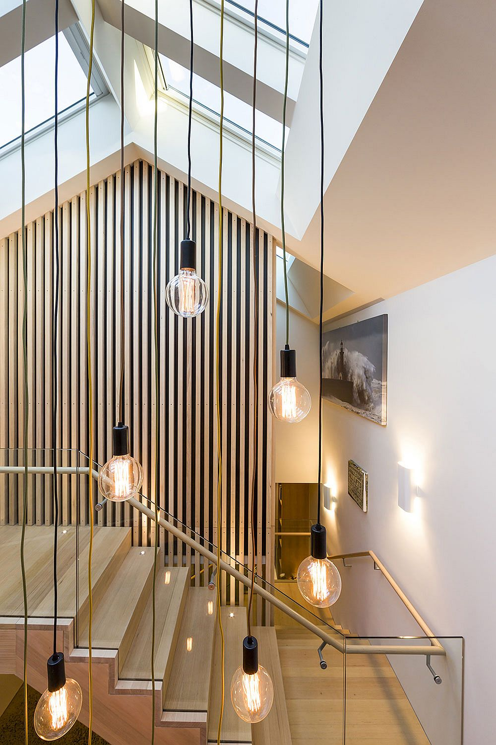 Shaping Your Home Around A Sculptural Staircase Posh