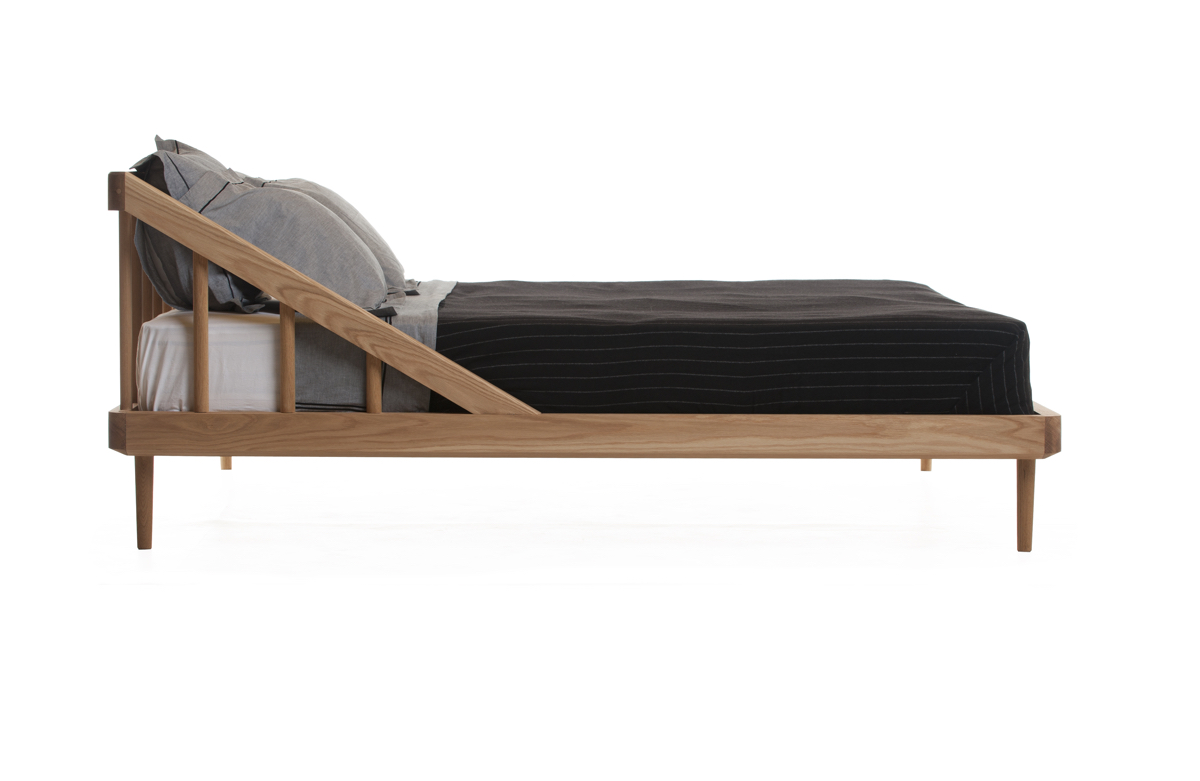 Modern steel bed frame - 21 Choice Bedroom Furnishings To Facilitate Repose