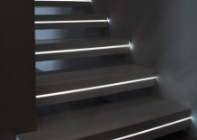 It May Not Work In Everyoneu0027s Home, But It Definitely Helps Make A Staircase  Look More Interesting And Safe In The Dark! Here Are Some Great Examples To  ...