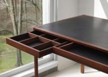 Leather Desk detail